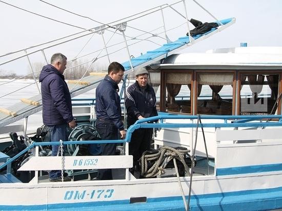 Объявлена дата начала навигации в Татарстане