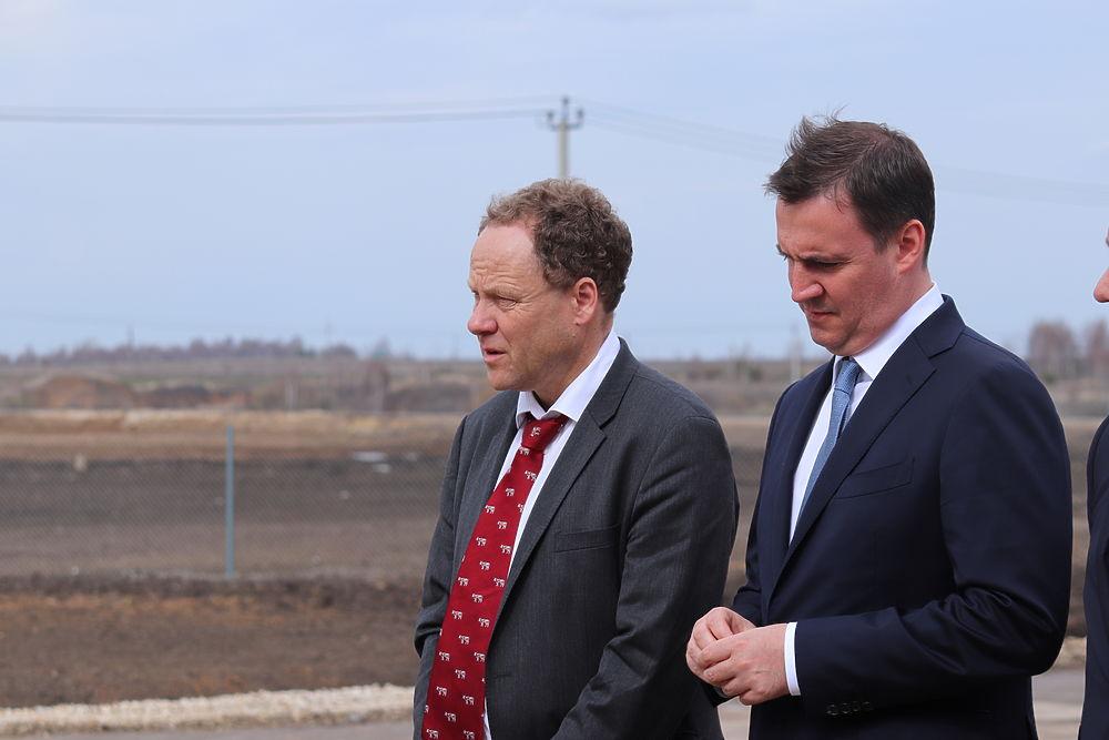 Министр сельского хозяйства России открыл крупный молочный комплекс в Пителинском районе
