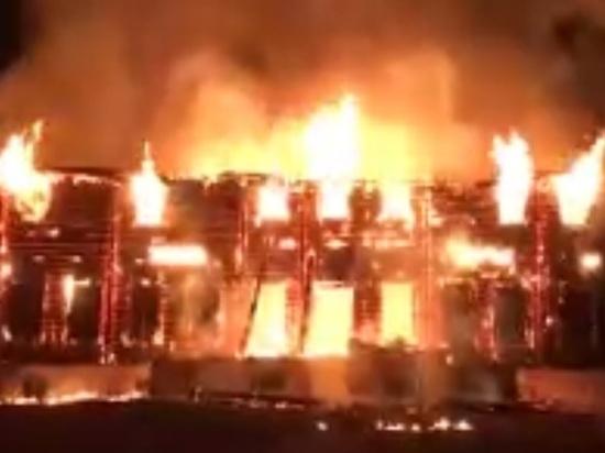 Памятник архитектуры федерального значения сгорел под Малоярославцем