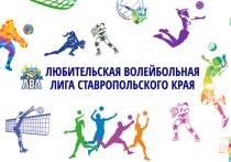 Финальные игры Любительской волейбольной лиги Ставрополья стартуют 14 апреля