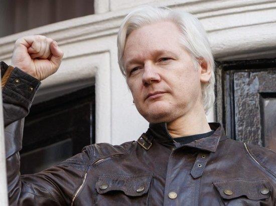 Стало известно, что выкрикнул Ассанж во время задержания