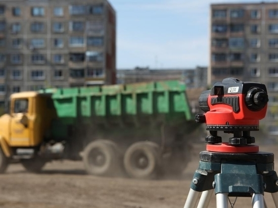 В Саранске продолжили благоустройство парка Победы