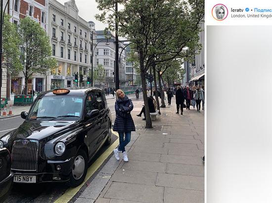 Леру Кудрявцеву обокрали в Лондоне: «Найти воров невозможно»