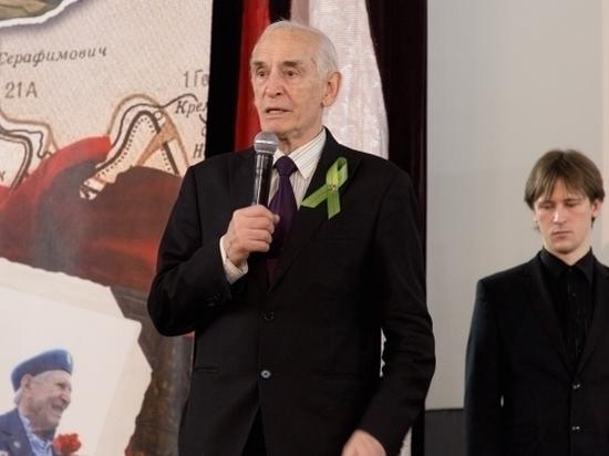 Василий Лановой дал концерт в Волгограде для ветеранов