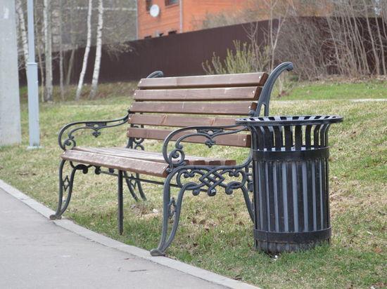 В Саранске урны и лавочки расставят по местам до конца апреля