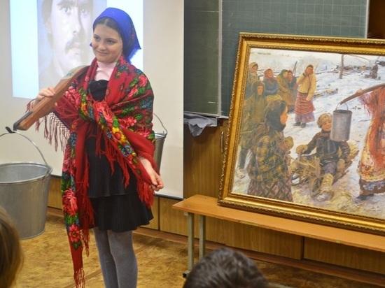Музей им. Эрьзи приедет к школьникам