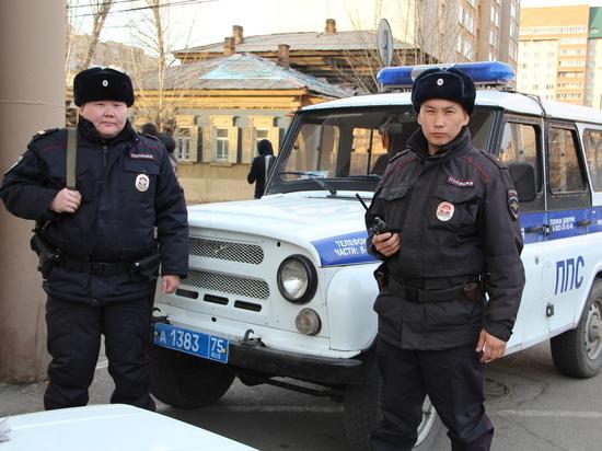 Полиция задержала угонщика с поличным благодаря бдительной читинке