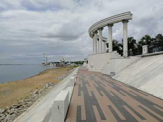На набережной Хабаровска ограничили движение для велосипедистов