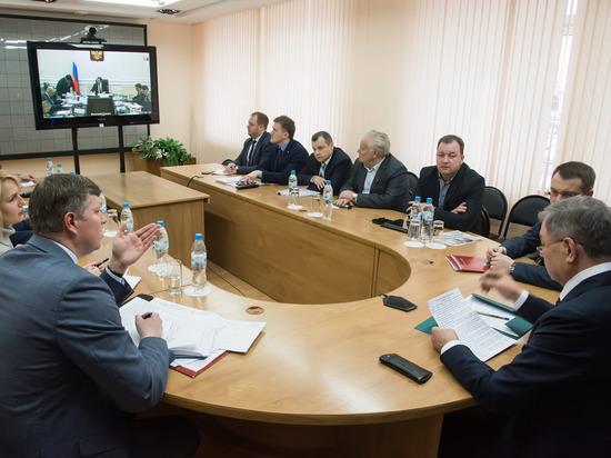 Артамонов принял участие во всероссийском совещании по переходу строительной отрасли на проектное финансирование