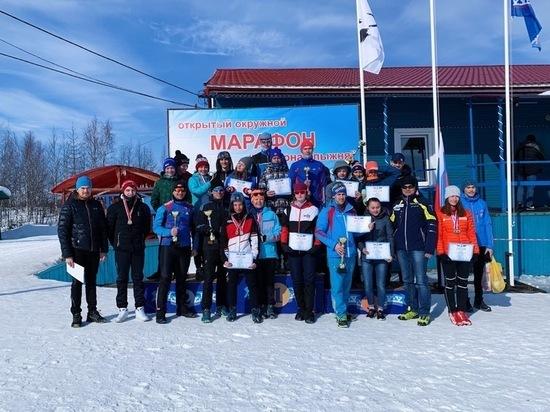 Лыжники из Лабытнанги стали абсолютными чемпионами ЯНАО