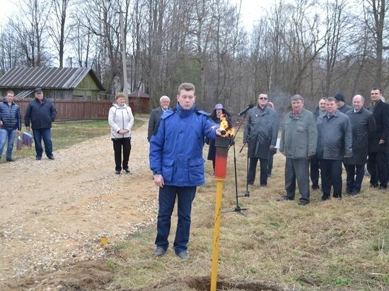 В Куйбышевском районе запустили газ