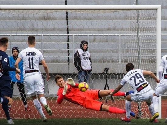 «Енисей» и «Уфа» сыграли вничью на Центральном стадионе Красноярска