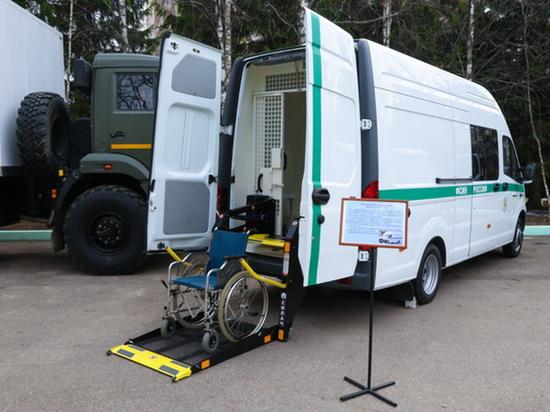 ФСИН разработала тюремные автозаки для инвалидов и матерей с детьми