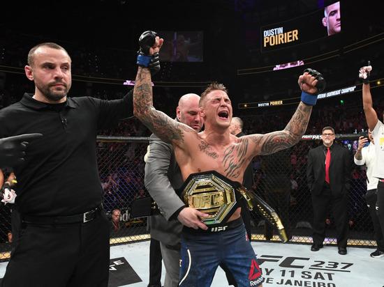 Порье сокрушил Холлоуэя и идет за Хабибом: что было на турнире UFC 236