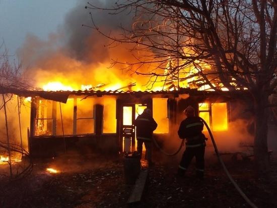 Тело женщины нашли на пожаре дома в Забайкалье