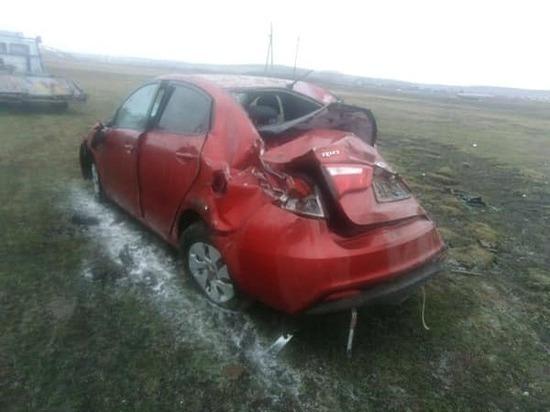 ДТП в Башкирии: пьяный водитель рисковал жизнями двоих детей