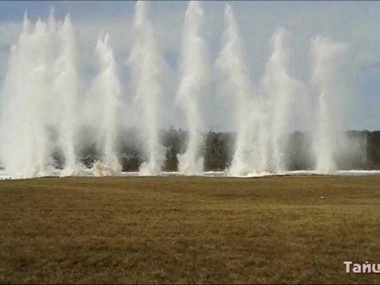 Взрывные работы стартовали на реках Тайшетского района