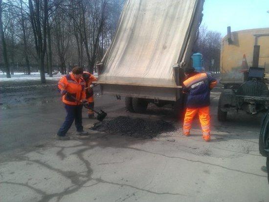 До конца апреля в Ульяновске отремонтируют дороги на 40 улицах