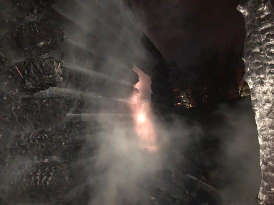 В Чебоксарах двое мужчин сгорели в частном доме