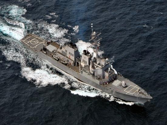 В Черное море вошел эсминец ВМФ США
