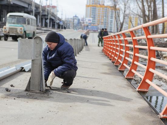 В Саранске открыли мост на Рабочей