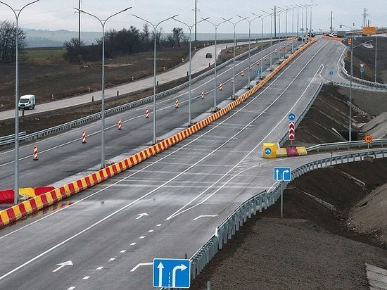 В Белогорском районе открыли новый участок трассы