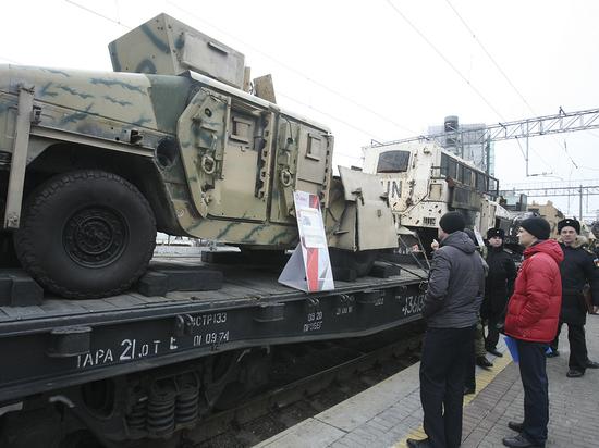 В Ярославль приехала выставка оружия «Сирийский перелом»