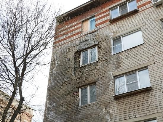 Обрушившийся на площади Мира в Липецке дом восстановят