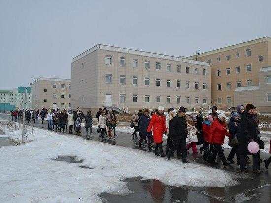 Жители Губкинского возмутились недопуском машин к больнице