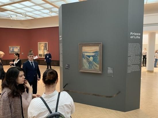 В Третьяковке открылась ретроспектива художника Эдварда Мунка