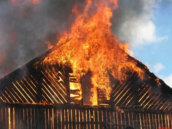 Подросток стал спасителем ребенка из горящего дома в Барахоево