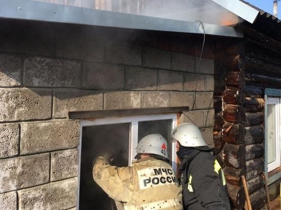 В Козельске сгорела квартира