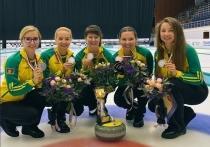 Кубанская женская команда взяла серебро на российском чемпионате по кёрлингу