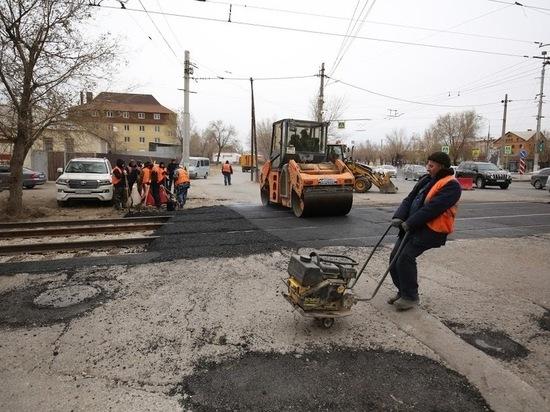 В Волгограде начали ремонт улицы Академика Бардина