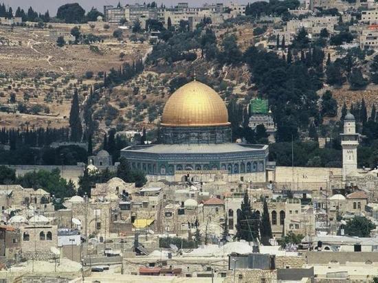 На Храмовой горе в Иерусалиме вспыхнул пожар