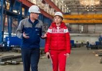 Предприятия группы КОНАР посетила конькобежка Ольга Фаткулина