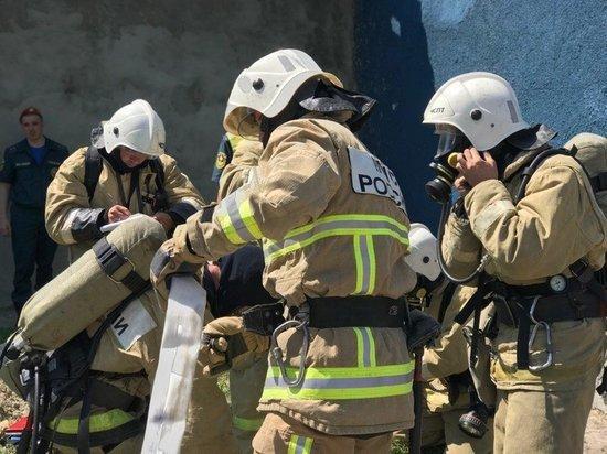 В Симферополе горела пятиэтажка: есть спасенные