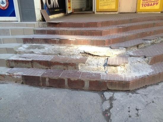 Саранских бизнесменов наказывают за грязные фасады