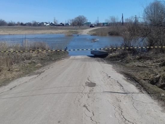 В Мордовии подтопило два моста