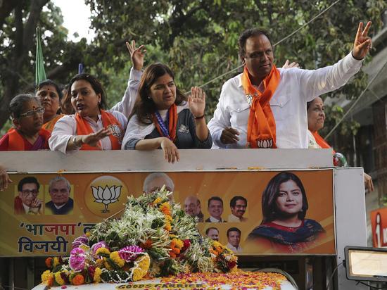 В Индии проходят рекордные выборы: 900 млн избирателей, 8000 кандидатов
