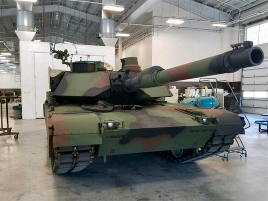 США начали перекрашивать танки для «войны в условиях России»