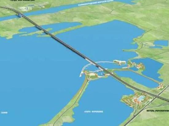 Петербуржцы предложили сделать мост через Калининградский залив платным