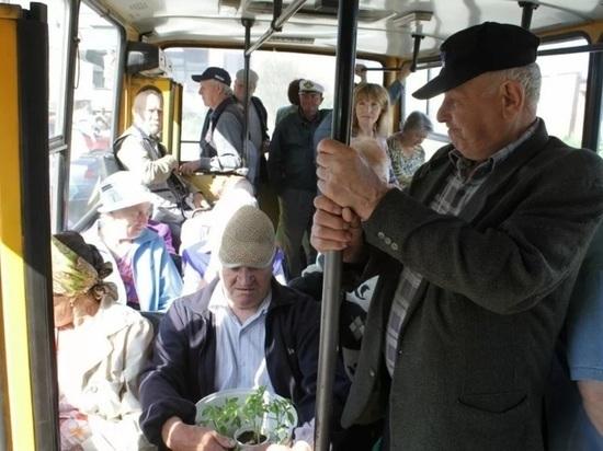 В Улан-Удэ начали продаваться льготные проездные на дачные автобусы