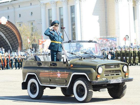 Парад Победы в Кирове будет отрепетирован 9 раз