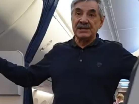 «Я, простите, адекватный»: в соцсетях рассказали, как в Барнауле сняли с рейса актера Панкратова-Черного