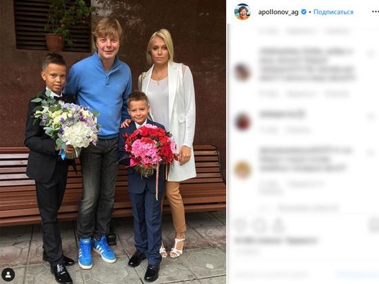 Вторая жена «Иванушки» Григорьева-Аполлонова ушла к баскетболисту