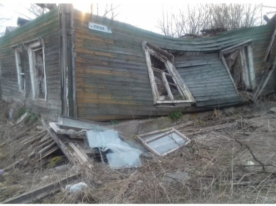 На свалку мусора в центре Пскова жалуется псковичка