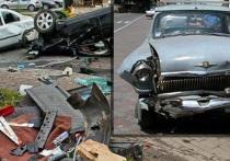 Доведенный чиновниками пенсионер протаранил их машины: Навальный шутку не понял