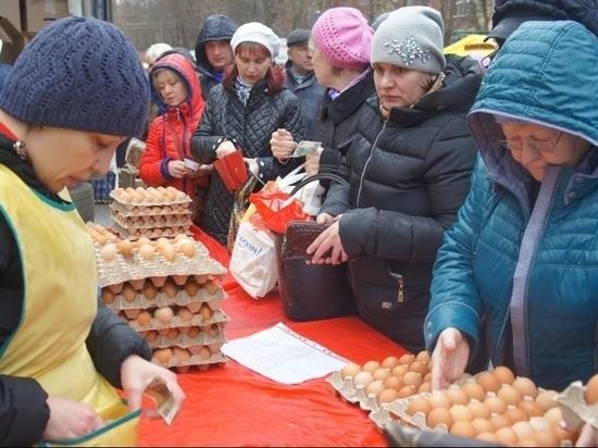 В Саранске определились с ценами на предпасхальной ярмарке