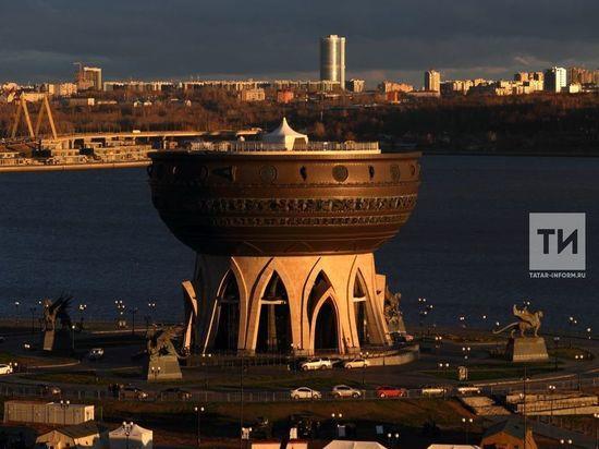 Смотровая площадка «Чаши» в Казани снова начинает работать